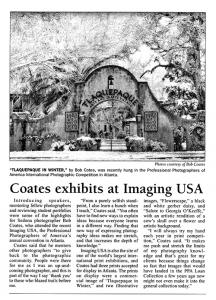 Coates featured in Red Rock News story